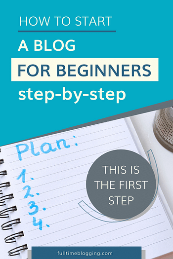 how to start a blog for beginners step by step