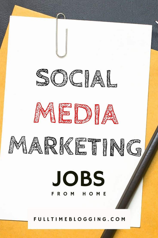 Social Media Marketing Jobs From Home