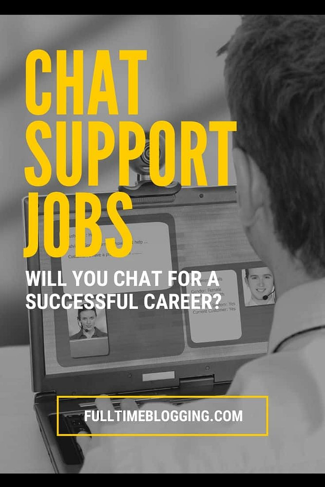 chat support jobs