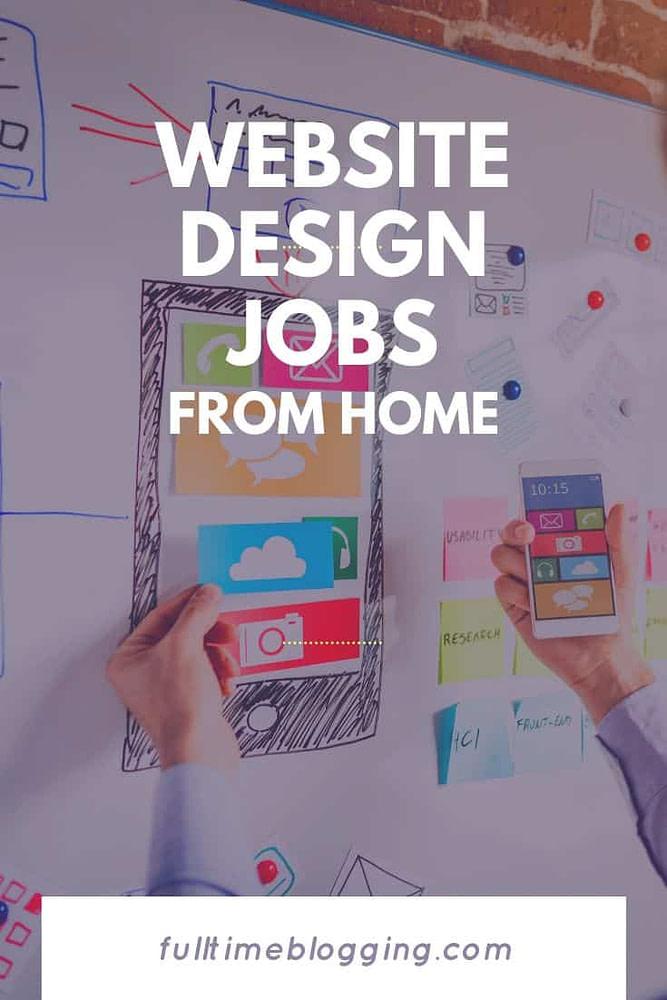 website design jobs from home