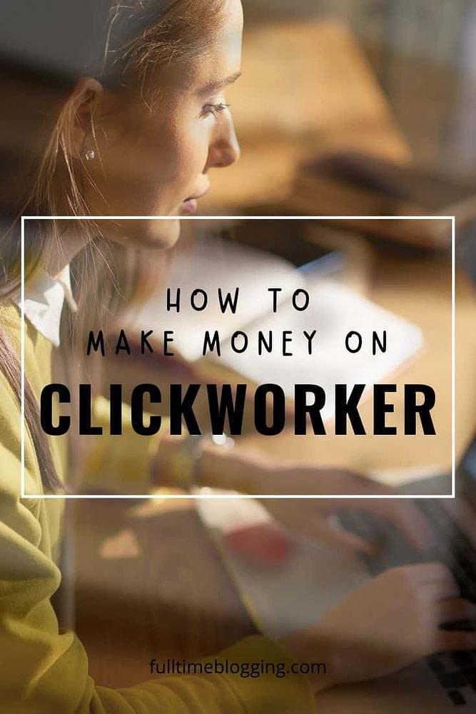 make money on clickworker