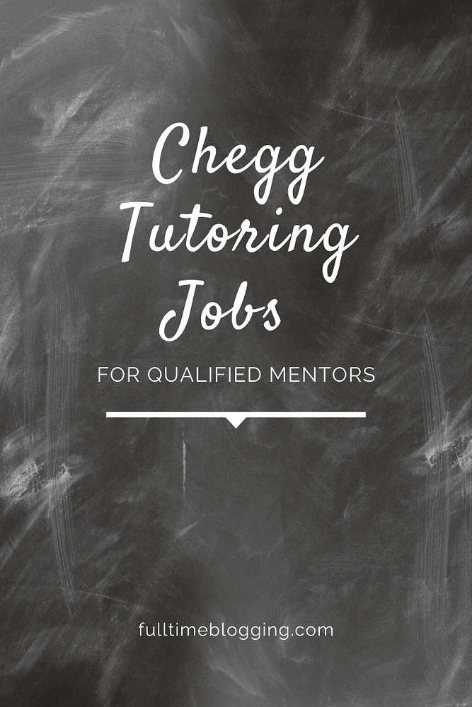 Chegg Tutoring Jobs