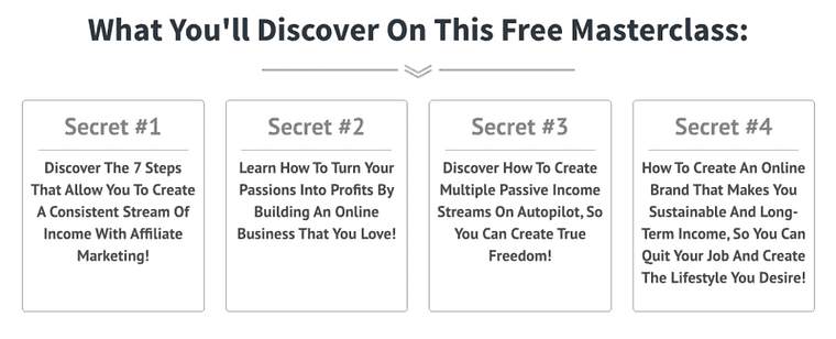 the affiliate marketing mastery and