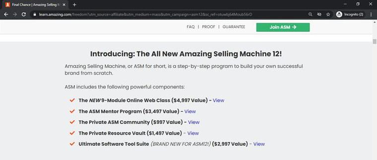 amazing selling machine members