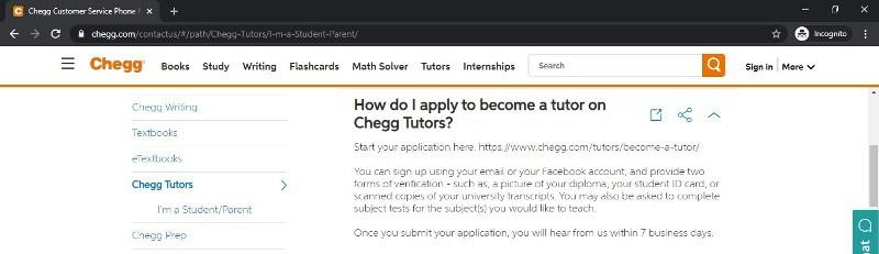 chegg tutors reviews